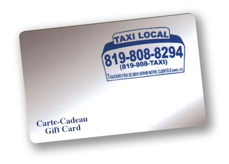 carte cadeau Taxi Local